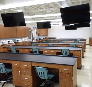 Classroom with Demonstration Fume Hoods