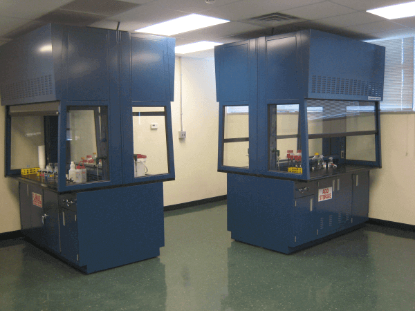 Double Sided Clear View Fume Hoods