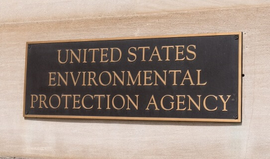 Sign for the Environmental Protection Agency