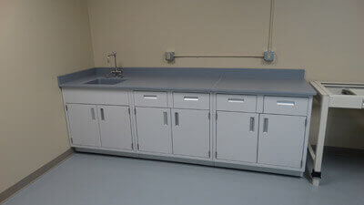 Epoxy Resin Laboratory Countertops