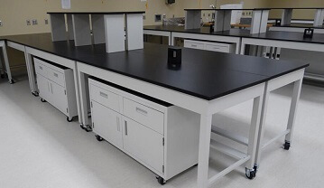 Flexible System Cabinetry by PSA Laboratory Furniture
