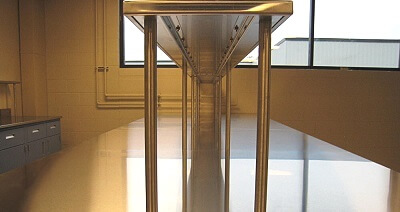 Stainless Steel Food Research Counter
