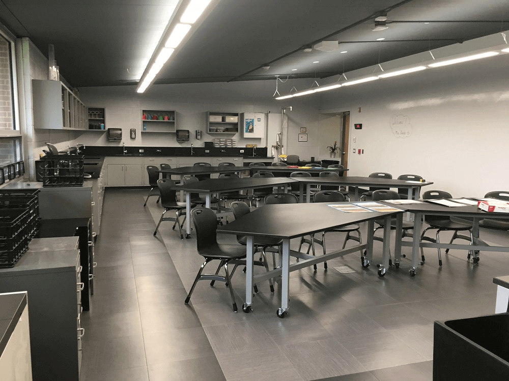 Mobile Tables for Forreston High School School Laboratory