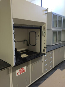 High Performance Chemical Fume Hoods