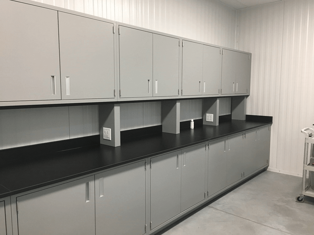 Lab Cabinets for HomeChef Food Science
