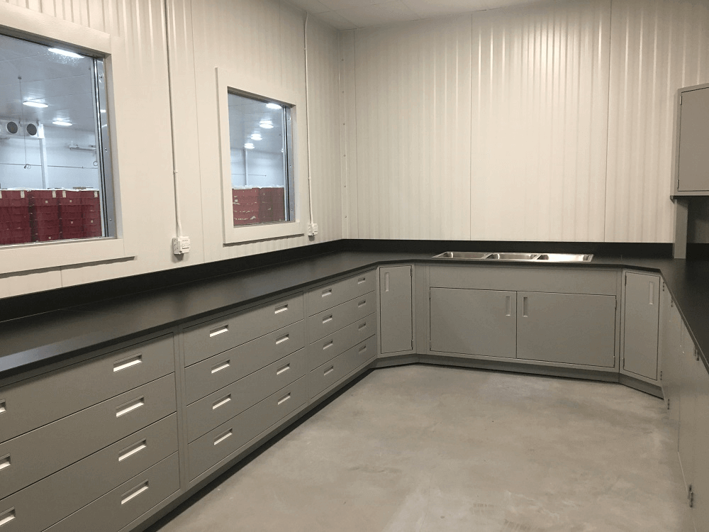 Countertops for HomeChef Food Science Laboratory