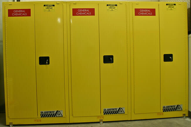 flammable lab cabinets