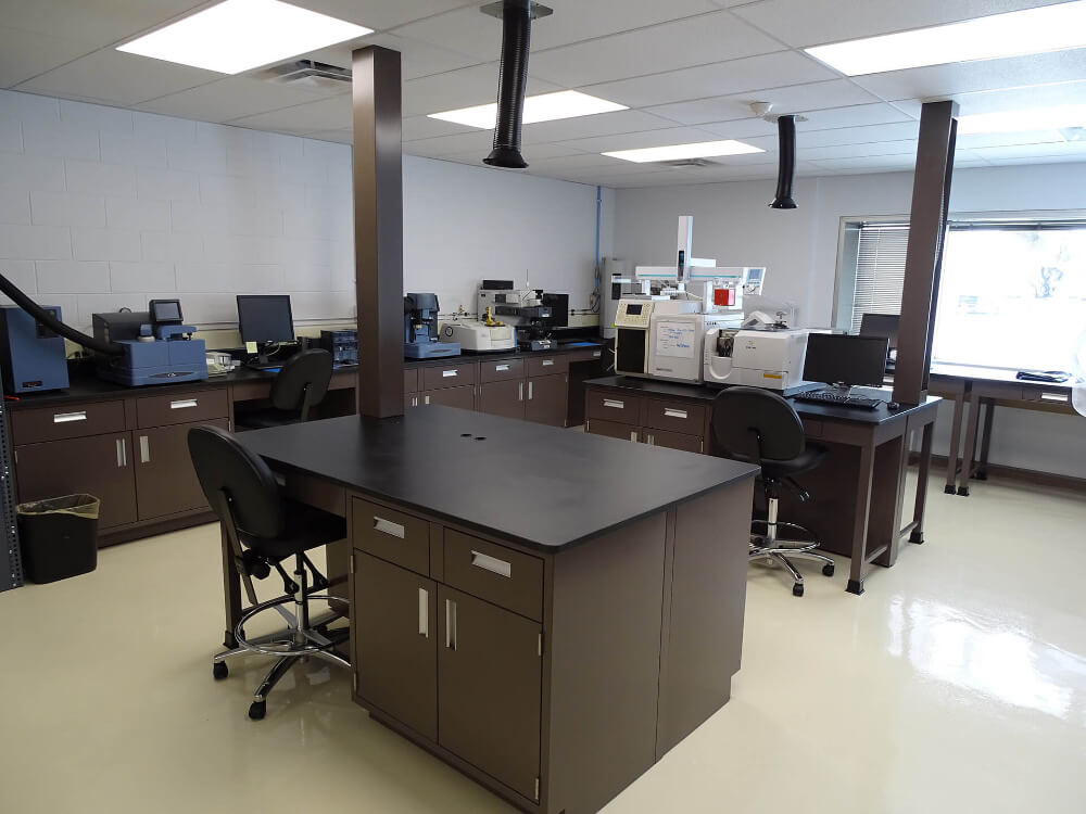 island lab tables