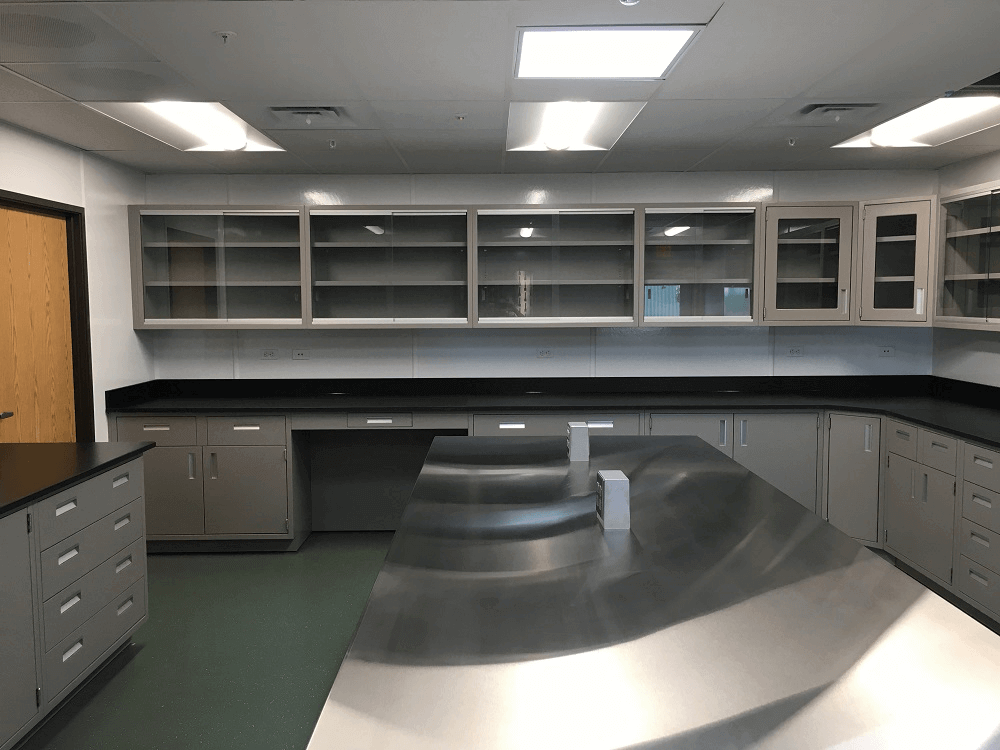Laboratory Countertops Gallery Before And After Lab