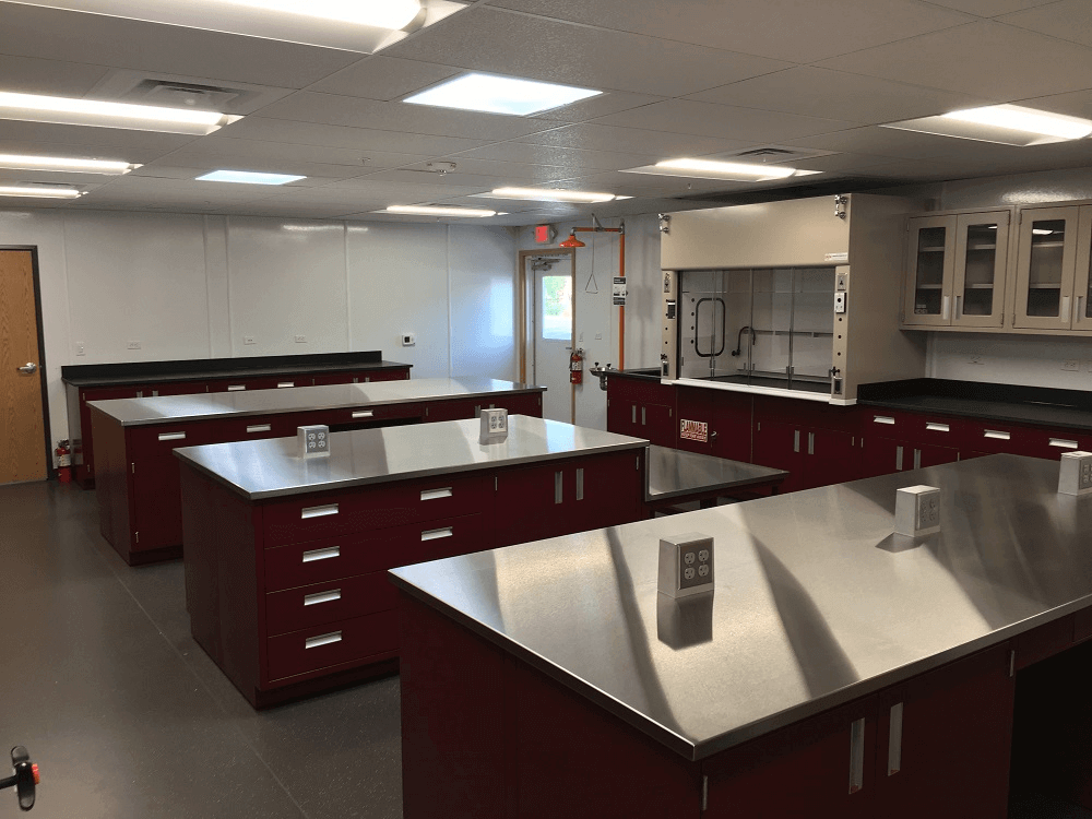 Malarkey Roofing Steel Laboratory Counters