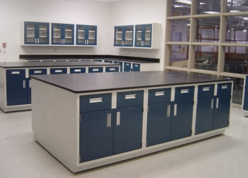 Metal lab cabinets from Columbus to Cleveland, Ohio