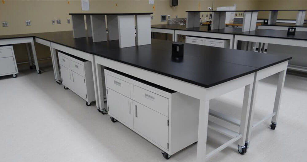 lab cabinet table