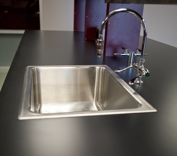 Steel Sink Countertop