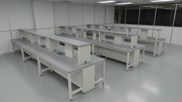 chemistry lab tables