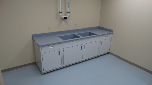 Laboratory Countertops Gallery | Before and After Lab Bench