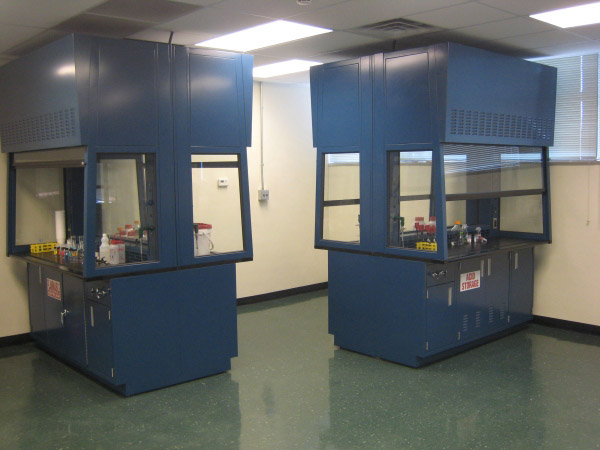 Double Sided Fume Hoods