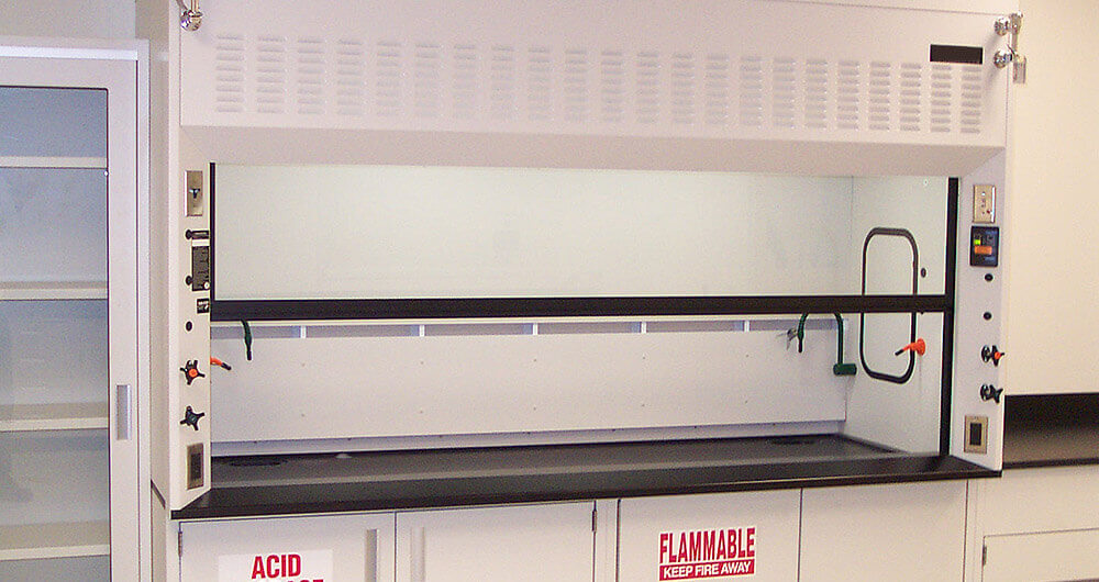 Fume hoods for laboratory clean air