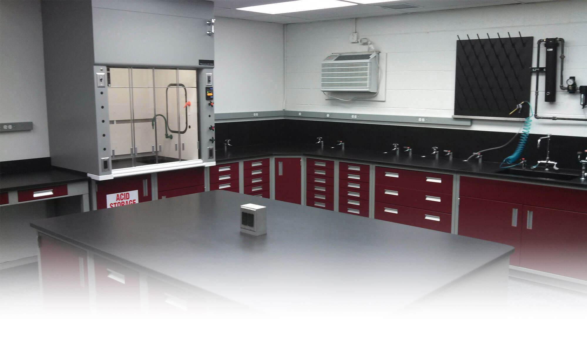Laboratory Furniture Lab Design Installation Fume Hoods